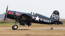 Aircraft Photo of OE-EAS | Vought F4U-4 Corsair | Red Bull | USA - Navy | AirHistory.net #253240