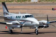 Aircraft Photo of N779MJ | Beech C90A King Air | AirHistory.net #253601