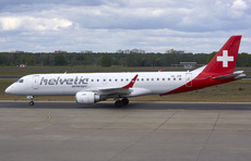 Aircraft Photo of HB-JVR | Embraer 190LR (ERJ-190-100LR) | Helvetic Airways | AirHistory.net #226491