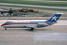 Aircraft Photo of N1301T | Douglas DC-9-14 | Texas International Airlines | AirHistory.net #227548