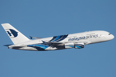 Aircraft Photo of 9M-MNC | Airbus A380-841 | Malaysia Airlines | AirHistory.net #227948