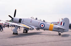 Aircraft Photo of VZ345 | Hawker Sea Fury T20S | UK - Air Force | AirHistory.net #228965