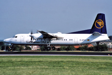 Aircraft Photo of D-AFKX | Fokker 50 | Lufthansa CityLine | AirHistory.net #229247