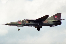 Aircraft Photo of 66 red | Mikoyan-Gurevich MiG-23UB | Soviet Union - Air Force | AirHistory.net #235431