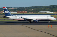 Aircraft Photo of N117HQ | Embraer 175LR (ERJ-170-200LR) | US Airways Express | AirHistory.net #237519
