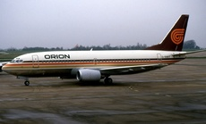 Aircraft Photo of G-BNRT | Boeing 737-3T5 | Orion Airways | AirHistory.net #237768