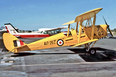 Aircraft Photo of VH-AYW / A17-262 | De Havilland D.H. 82A Tiger Moth | Australia - Air Force | AirHistory.net #242546