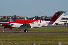 Aircraft Photo of VH-AMQ | Beech B200C Super King Air | Ambulance Service Of New South Wales | AirHistory.net #247134