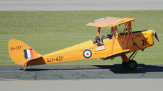 Aircraft Photo of VH-CKF / A17-421 | De Havilland D.H. 82A Tiger Moth | Royal Aero Club of WA | Australia - Air Force | AirHistory.net #250548