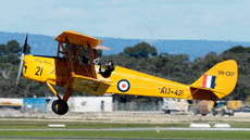 Aircraft Photo of VH-CKF / A17-421 | De Havilland D.H. 82A Tiger Moth | Royal Aero Club of WA | Australia - Air Force | AirHistory.net #252228