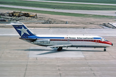 Aircraft Photo of N1054T | Douglas DC-9-14 | Texas International Airlines | AirHistory.net #256006