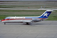 Aircraft Photo of N968E | Douglas DC-9-15 | Texas International Airlines | AirHistory.net #258079