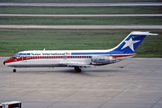 Aircraft Photo of N8961 | Douglas DC-9-14 | Texas International Airlines | AirHistory.net #260363