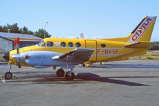 Aircraft Photo of F-BXSF | Beech 90 King Air | CIPRA - Centre d'Instruction Pilote Rousseau Aviation | AirHistory.net #263863