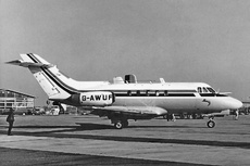 Aircraft Photo of G-AWUF | Hawker Siddeley HS-125-1B/522 | AirHistory.net #266407