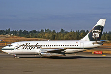 Aircraft Photo of N742AS | Boeing 737-290C/Adv | Alaska Airlines | AirHistory.net #268510