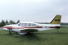 Aircraft Photo of D-IBOM | Piper PA-23-250 Aztec C | WDL Aviation | AirHistory.net #276835
