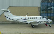 Aircraft Photo of G-YVIP | Beech B200 Super King Air | Gama Aviation | AirHistory.net #285514