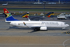 Aircraft Photo of ZS-SJB | Boeing 737-8S3 | South African Airways | AirHistory.net #285679