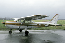 Aircraft Photo of OO-CNW | Reims F172N Skyhawk 100 II | Abelag Aviation | AirHistory.net #286787