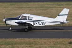 Aircraft Photo of G-AVGE | Piper PA-28-140 (mod) Cherokee | AirHistory.net #289027