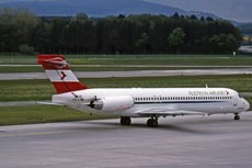 Aircraft Photo of OE-LMK | McDonnell Douglas MD-87 (DC-9-87) | Austrian Airlines | AirHistory.net #291812