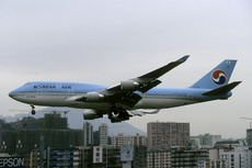Aircraft Photo of HL7472 | Boeing 747-4B5 | Korean Air | AirHistory.net #300555