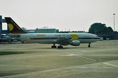 Aircraft Photo of G-SWJW | Airbus A300B4-203FF | Air Scandic | AirHistory.net #301013