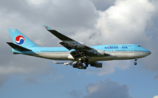 Aircraft Photo of HL7483 | Boeing 747-4B5 | Korean Air | AirHistory.net #301178