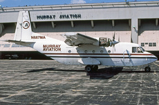 Aircraft Photo of N687MA | CASA C-212-200 Aviocar | Murray Aviaton | AirHistory.net #306526