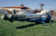 Aircraft Photo of G-AZYB | Bell 47H-1 Bellairus | AirHistory.net #307766