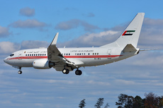 Aircraft Photo of A6-HRS | Boeing 737-7EO BBJ | United Arab Emirates Government | AirHistory.net #313407