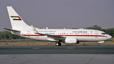 Aircraft Photo of A6-DAS | Boeing 737-7Z5 BBJ | United Arab Emirates Government | AirHistory.net #315568
