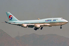 Aircraft Photo of HL7494 | Boeing 747-4B5 | Korean Air | AirHistory.net #323467