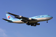 Aircraft Photo of HL7485 | Boeing 747-4B5 | Korean Air | AirHistory.net #327093