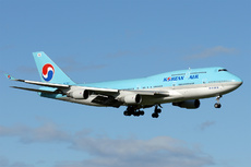 Aircraft Photo of HL7487 | Boeing 747-4B5 | Korean Air | AirHistory.net #328319