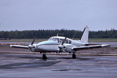 Aircraft Photo of SE-ECO | Piper PA-23-250 Aztec B | Skellefteflyg | AirHistory.net #334586