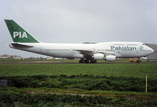 Aircraft Photo of AP-BFY | Boeing 747-367 | Pakistan International Airlines - PIA | AirHistory.net #338623