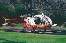 Aircraft Photo of HB-XEO | Aerospatiale SA-315B Lama | Air Glaciers | AirHistory.net #350151