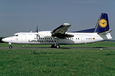 Aircraft Photo of D-AFKT | Fokker 50 | Lufthansa CityLine | AirHistory.net #355913