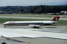 Aircraft Photo of HB-INT | McDonnell Douglas MD-81 (DC-9-81) | Swissair | AirHistory.net #358163